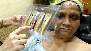 SHAHNAZ HUSAIN gold facial  full tutorial | in hindi | easy at home
