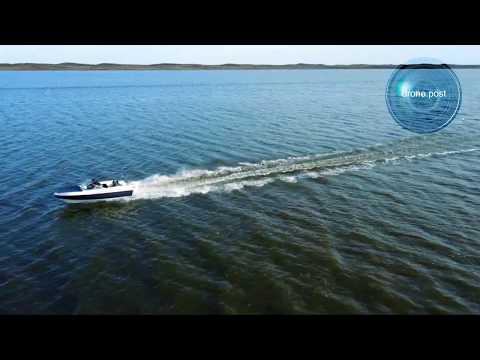pesca en laguna con drone -Monte Hermoso- pesca con drone- drone.post