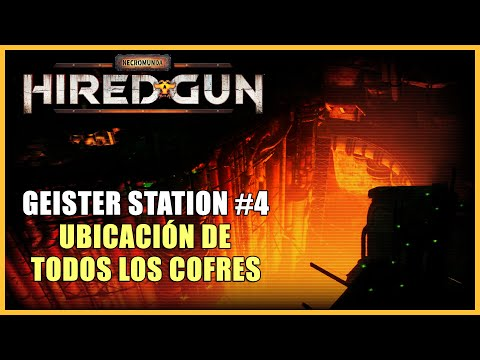 Necromunda: Hired Gun walkthrough - All 5 chests locations in Geister Station - mission 4
