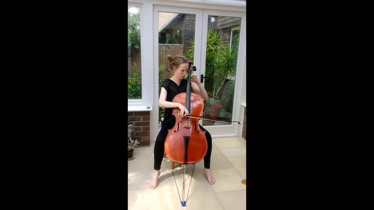 Bach Cello Suite No  3 in C major - Rebecca Whiteman