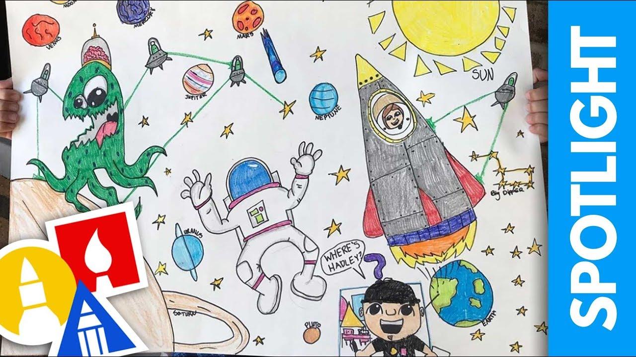SPOTLIGHT: Space Art (7.19.19)