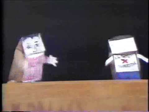 201 Proof Television  Puppet   1950s Nuclear Drills