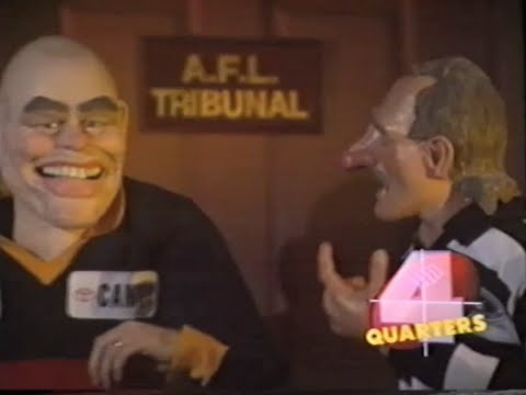 Gary Ablett and Andrew Jarman Rubbery Figures on '4 Quarters' AblettWeek
