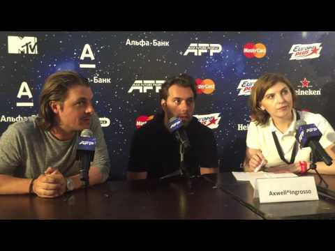 Axwell /\ Ingrosso Interview (AFP 2016)