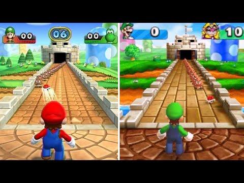Mario Party 9 Vs. Mario Party: The Top 100 - Minigame Comparison