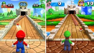 Mario Party 9 Vs. Mario Party: The Top 100 - Minigame Comparison