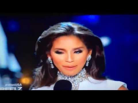 Miss Rhode Island Question Fail Miss USA 2015