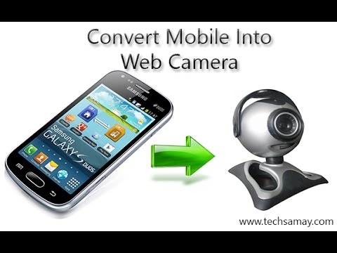 Use Mobile Camera As Web Camera. Android App DroidCam ...
