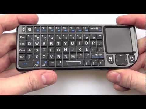 The Rii Mini Bluetooth Keyboard vs The Lenovo N5902