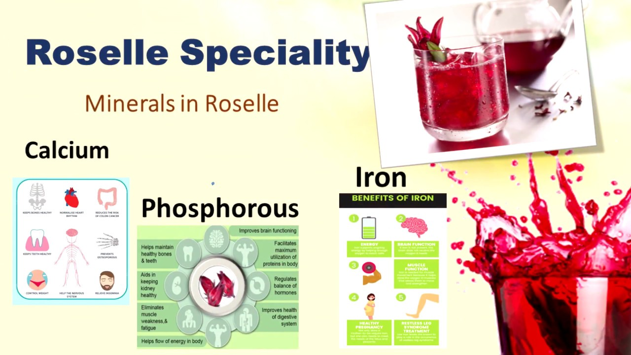 dxn roselle juice | natural refreshing drink | nourish your thirsts