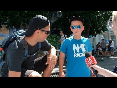 Житомир.info | Новости Житомира: Тестування на ВІЛ, ігри та малюнки: у Житомирі проходить акція «Ми обираємо здоровий спосіб життя»