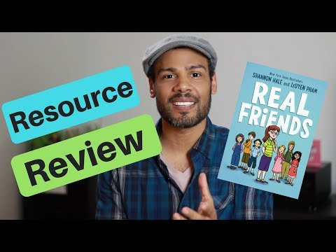 Real Friends by Shannon Hale (book review)