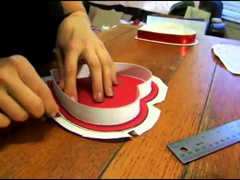 Hướng dẫn cách làm hộp quà Valentine Video
