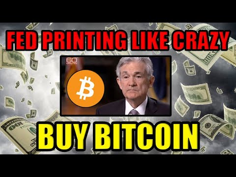 Bitcoin's Price Is About To EXPLODE! Why? Fed Printing Money LIKE CRAZY + SMART MONEY Buying 2020!