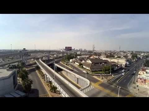Grabación Toma Aérea de Mexicali (Puente Lazaro Cárdenas y López Mateos)