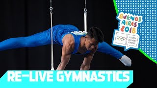 RE-LIVE | Day 08: Artistic Gymnastics | Youth Olympic Games 2018 |Buenos Aires