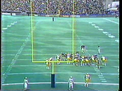 1983 CFL Eastern Final - Argos vs. Tiger-Cats, Part 9