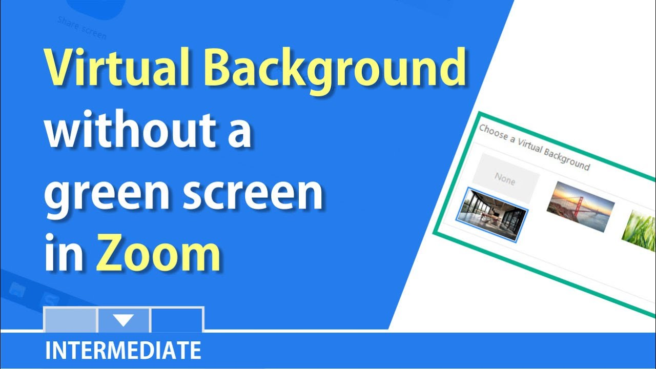 Zoom now allows a virtual background w/o a green screen by ...