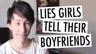 Top 10 Lies That Girls Tell Their Boyfriends