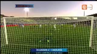 BOLIVIA VS ECUADOR (3-2) Resumen Completo & Goles HD | Copa América 2015 | 15/06/2015