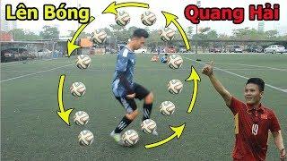 Dạy bóng đá : Kỹ thuật lên bóng đỉnh nhất của Quang Hải U23 Việt Nam | sombrero flick tutorial