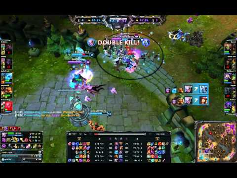 LOL- Pentakill - Diana - Demanciaking
