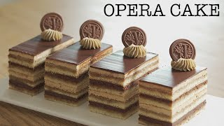 How to make Heavenly Opera Cake