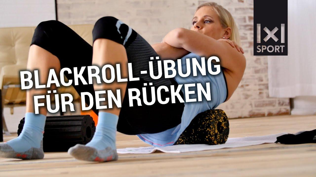 Blackroll übungen Unterer Rücken