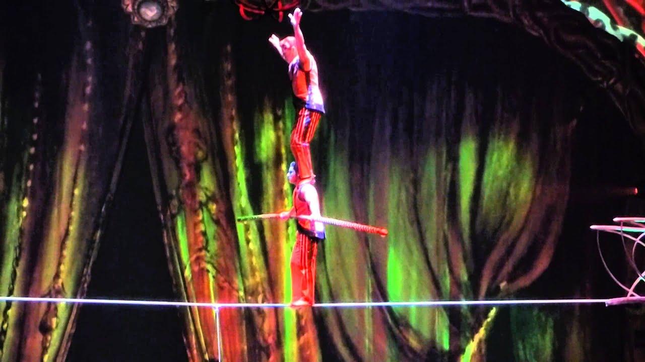 2015 Cirque du Soleil Equilibristas 2 - YouTube