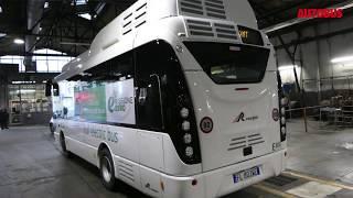Autobus elettrici, un Rampini Alé per Genova