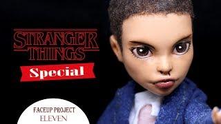 Eleven (L) - {Monster High Repaint} - Stranger Things