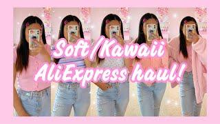Soft/Kawaii aliexpress haul | pastel fashion & aesthetic ☆ screenshot 2
