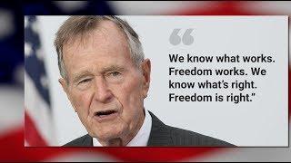 BÌNH LUẬN SBTN: Tổng Thống George H. W. Bush - Chính Danh Lãnh Đạo Mỹ