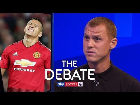 Why is Alexis Sanchez struggling at Man United?  The Debate  Sidwell & Merson