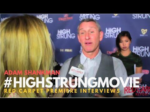 "Adam Shankman at the Red Carpet Premiere for ""High Strung"" #HighStrungMovie"