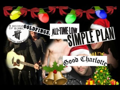 Have Yourself A Merry Little Christmas - Lyrics (Simple Plan, ATL, Good Charlotte, Goldfinger, 5SOS)