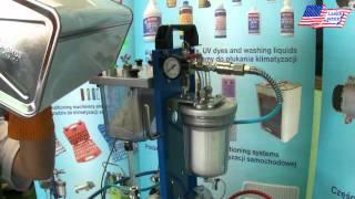 Płukanie układu klimatyzacji - instrukcja obsługi maszyny Turbo Cleaner