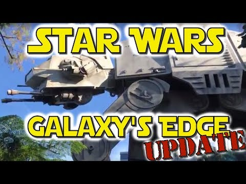 Star Wars Land (Galaxy's Edge) Update at Disney's Hollywood Studios (Nov. 26, 2017)