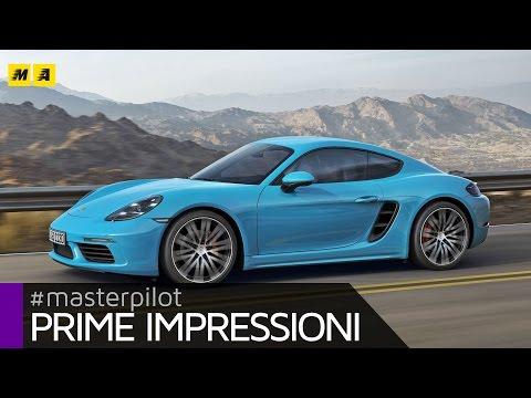 Porsche Cayman 718 | Primo test [ENGLISH SUB]
