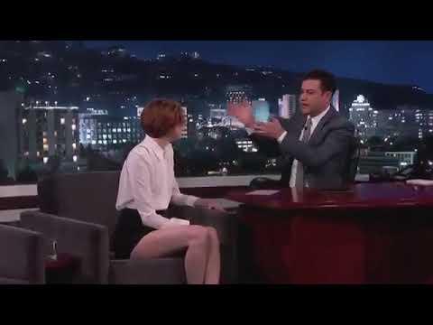 Karen Gillan  on Jimmy Kimmel