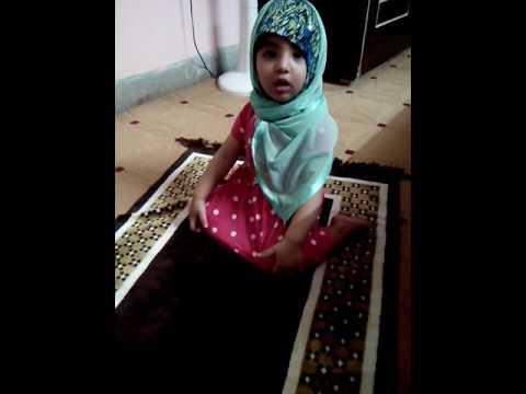 Cute Baby praying namaz