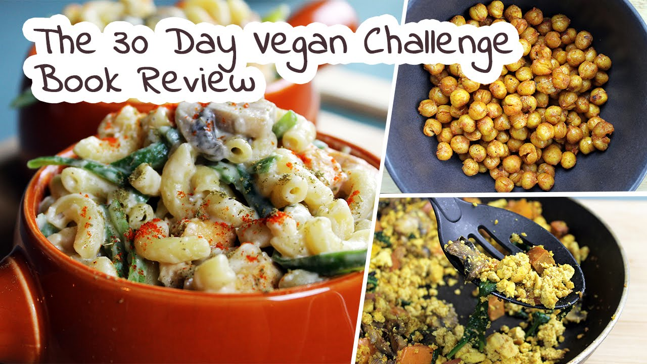 The 30 Day Vegan Challenge by Colleen Patrick Goudreau | Book Review by Mary's Test Kitchen
