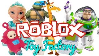 I OWN A TOY FACTORY - Toy Factory Tycoon - Roblox