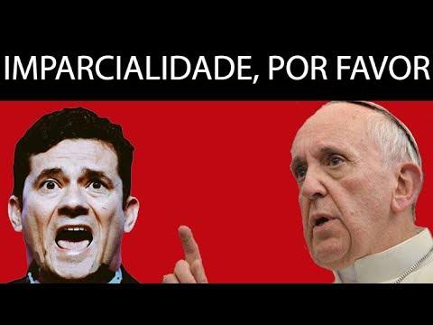 Blog da Cidadania: vídeo do Papa pôs Moro em pânico
