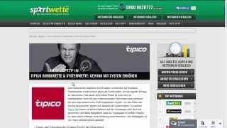 Tipico Kombiwette Systemwette (Zusammenfassung)