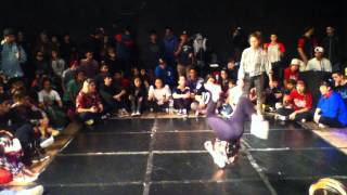 Bgirl Campanita Vs Frozen Curvas Battle 2015