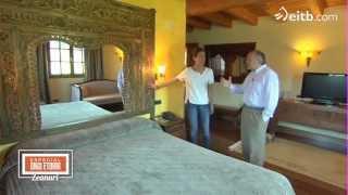 Casas: Hotel Etxegana de Zeanuri, un baserri con aire oriental y spa