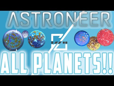 All The Planets! - Astroneer Guide!