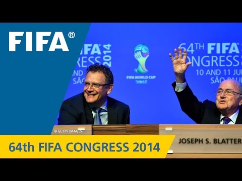 REPLAY: 64th FIFA Congress 2014 - Press Conference