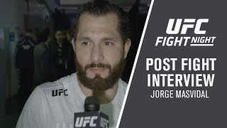 UFC London: Jorge Masvidal - 'People Love Watching Me Fight Because I Come to Fight'